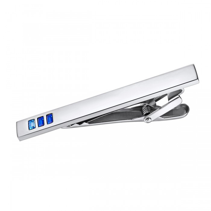 Blue Ombre Stainless Steel Tie Bar