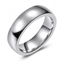 High Polish Cobalt Wedding or Fashion Ring - 6.5MM