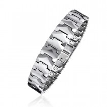 Magnetic Men's Tungsten Bracelet