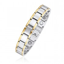 Two Toned Magnetic Therapy Bracelet