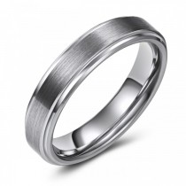 Chic and Fashionable Tungsten Wedding or Fashion Band - 5MM