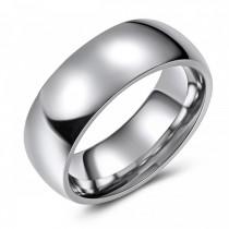 High Polish Cobalt Wedding or Fashion Ring - 8MM