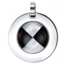 Engravable Checkered Floor Masonic Pendant