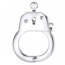 Latching Stainless Steel Handcuff Pendant