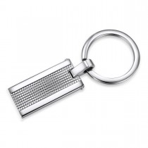 Engravable Textured Keychain