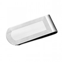 Detailed Stainless Steel Money Clip