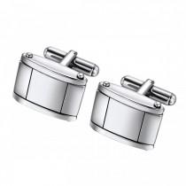 Stainless Steel Geometric Cufflinks
