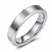 Scratch Resistant Cobalt Wedding or Fashion Ring - 5MM