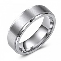 Matte Finish Cobalt Wedding or Fashion Ring - 7MM
