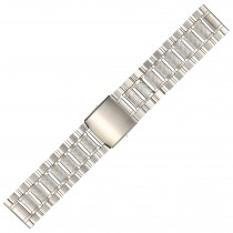 Stainless Steel Metal Buckle Watch Strap 26mm Straight End