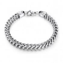 Stylish Franco Style Steel Bracelet